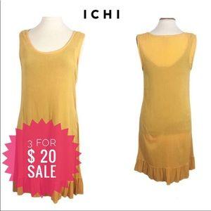 Ichi Drop Waist Tank Dress Sz L
